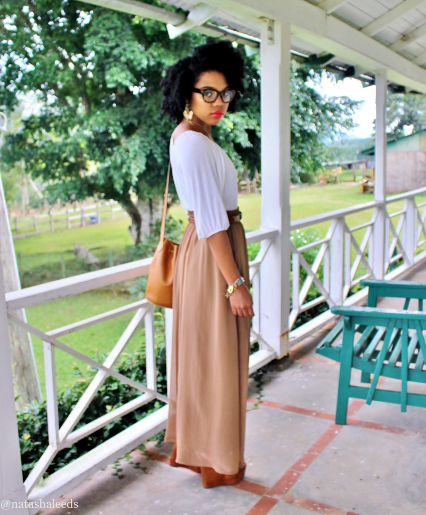 brown-maxi-skirt-outfit-stylishlee