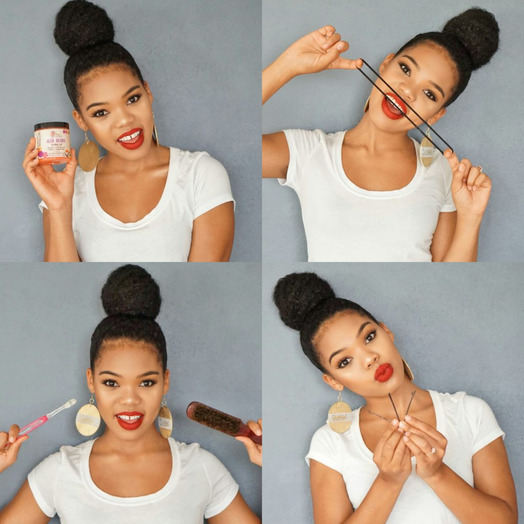 how-to-top-knot-bun-ninja-bun-natural-curly-kinky-hair-tutorial-pictorial-natashaleeds-stylishlee